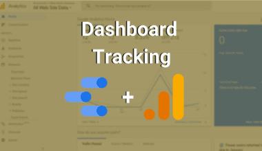 dashboard tracking google analytics and data studio