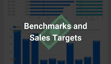 benchmarks and sales targets for google data studio